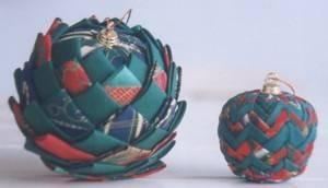 Boule de noel polystyrene et tissu chinasafetybelts - Decorer boules de noel polystyrene ...